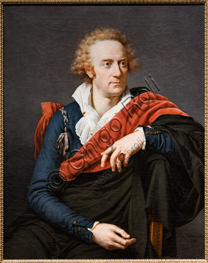 """Vittorio Alfieri"", 1793, by François - Xavier Fabre (1776 - 1837), oil on canvas."