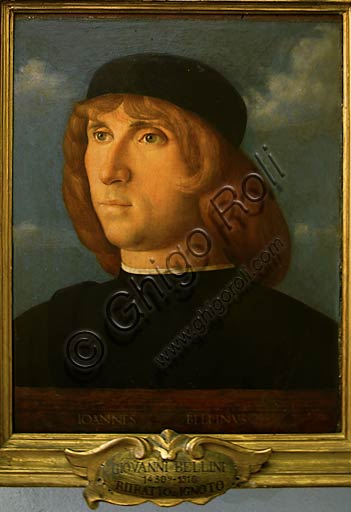 "Rome, Capitolines Museums: Giovanni Bellini, ""Self-portrait""."