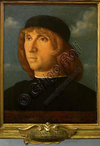 """Roma, Musei Capitolini: Giovanni Bellini, """"Autoritratto""""."""