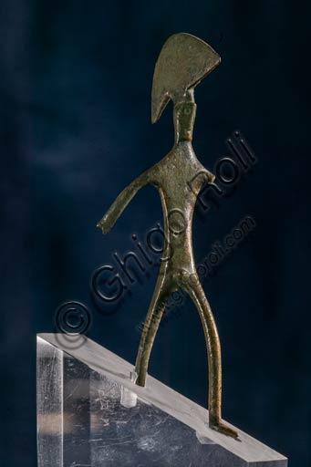 Modena, Museo Civico Archeologico Etnologico: bronzetto etrusco proveniente dal territorio modenese.