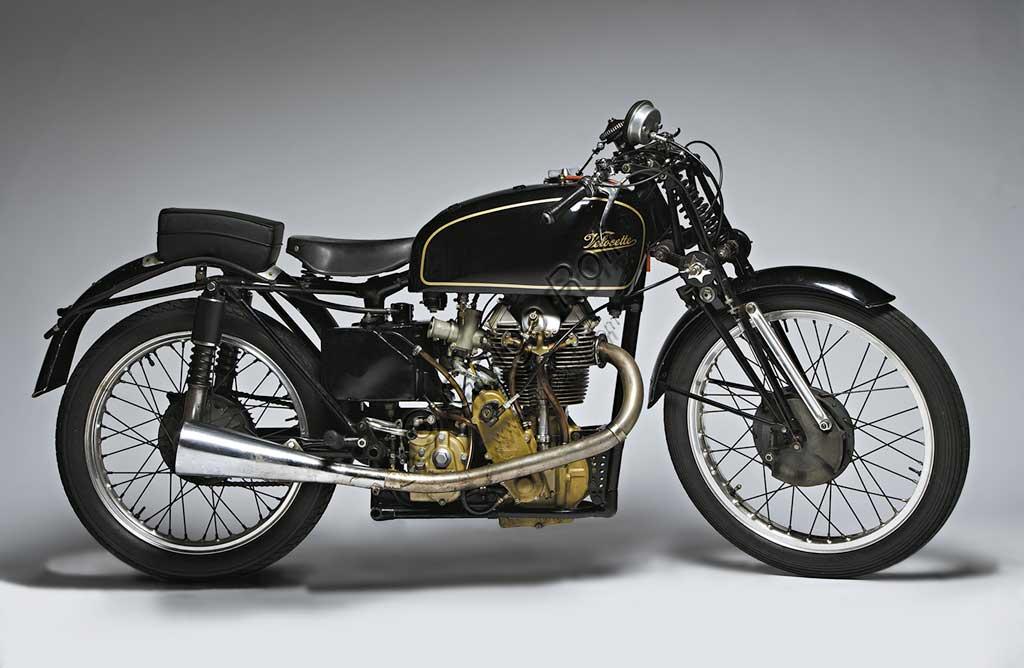 Ancient Motorbike Velocette K TT Mk VIII