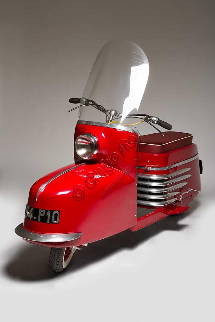 Ancient Motorbike Morin Scootavia. Scooter.