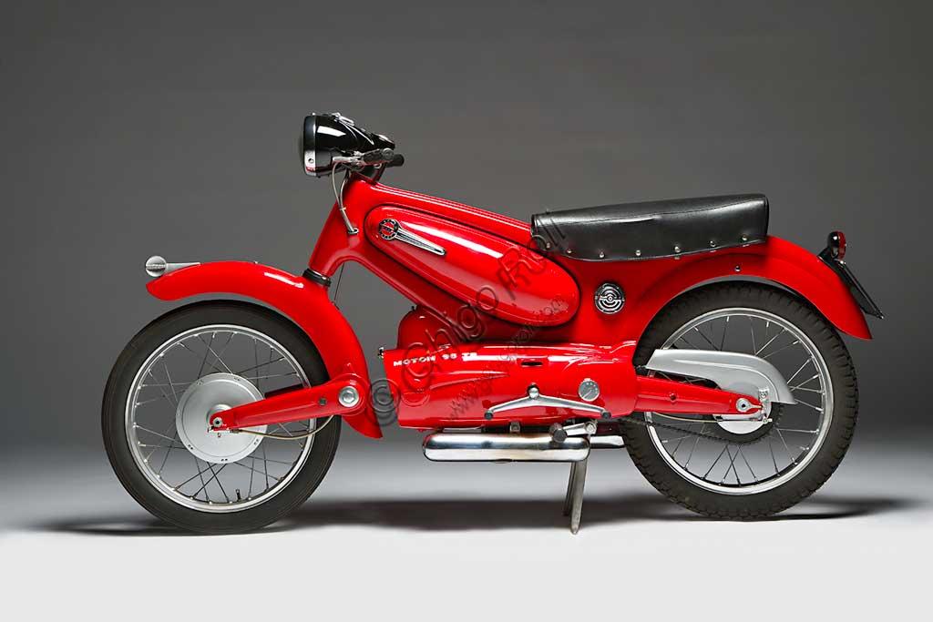 Ancient Motorbike Motom 98 TS