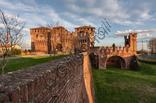 Soncino (Cremona): The Castle (XV century).