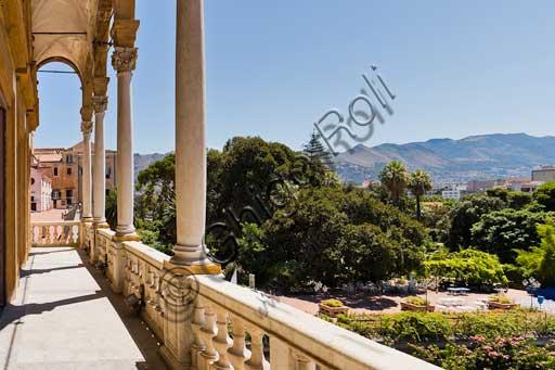 Palermo, Palazzo Reale o Palazzo dei Normanni, Torre di Porta Nuova: la loggia.
