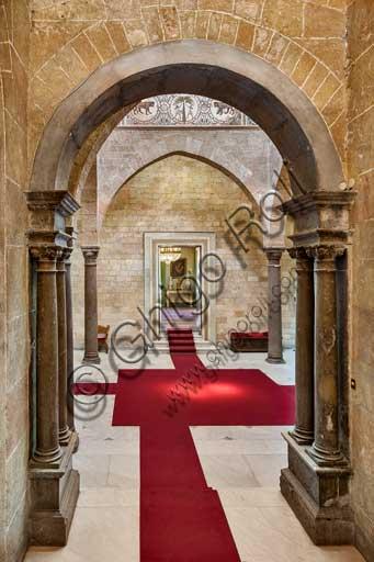 Palermo, Palazzo Reale o Palazzo dei Normanni, Torre Joharia, Sala dei Venti: veduta.
