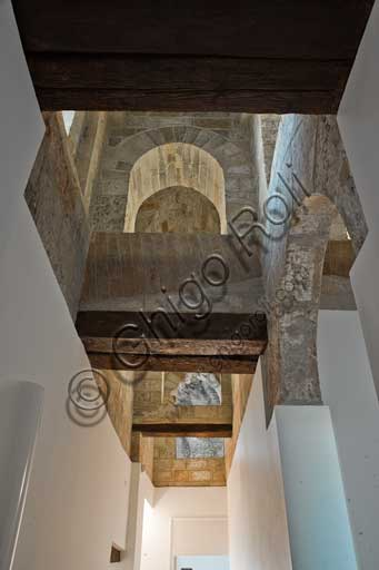 Palermo, The Royal Palace or Palazzo dei Normanni (Palace of the Normans),The Pisana Tower, upper spaces: vaults.