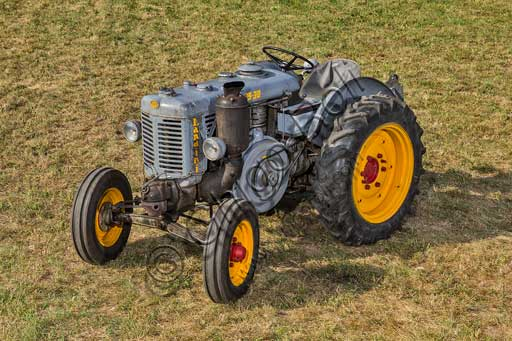 Old Tractor.Make: LandiniModel: L25/30Year: 1956Fuel: Diesel oilNumber of Cylinders:Displacement: 4.000 - 5.000 cc ?Horse Power: 25 HP at the wheel and 30 HP  at the PTO (Power Take-Off)Characteristics: