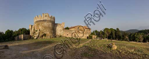 The stronghold of Populonia.