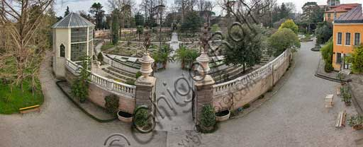 Padova, the Botanical Garden: the Hortus Cinctus.