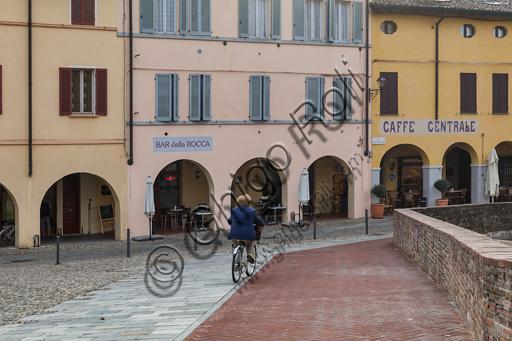 Fontanellato: partial view of the historic centre.