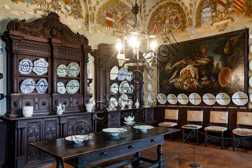 Fontanellato, Rocca Sanvitale: the kitchen.
