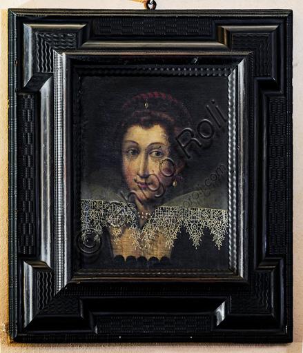 """Fontanellato, Rocca Sanvitale: """"Portrait of Barbara Sanseverino Sanvitale"""""""