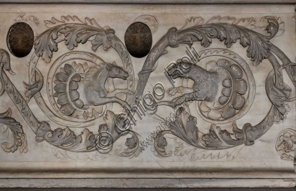 """Brescia, """"Santa Giulia, Museum of the City"""" (Unesco site since 2011): find."""